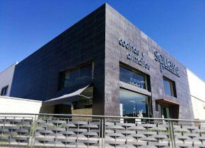 Square exterior Fábrica Polígono La Hiniesta Zamora Cocinas Baños Armarios Muebles